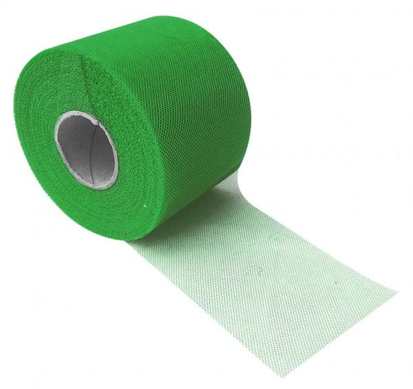 Tüll Uni Color 8cm x 60m grün No. 14