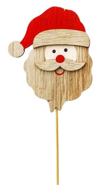 Beistecker OTH Santa Holz rot (12 Stück)